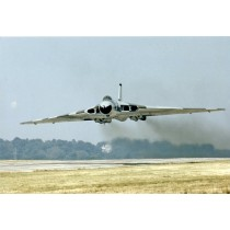 Colour Photograph of Avro Vulcan B2 XM645 of 9 Sqdn