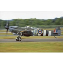 Colour Photograph Colour Photograph Spitfire Mk9 ML407