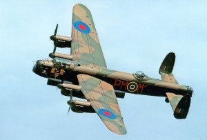 Colour Photograph of Avro Lancaster PA474