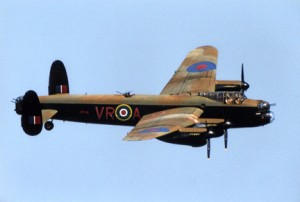 Colour Photograph of Avro Lancaster Kb726