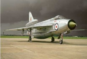 Colour Photograph of English Electric Lightning F6 XP 693