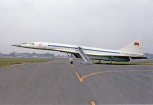 "Colour photograph TU-144 ""044"" CCCP-68001-12 x 8"