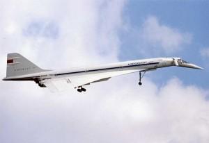"Colour photograph TU-144S ""004"" CCCP-77102 at 1973  Paris Air Show at Le Bourget Airport."